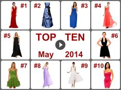 TOP 10 Deals on Dresses (May 2014). Learn more --> https://www.facebook.com/AmazingDailyDealsSite