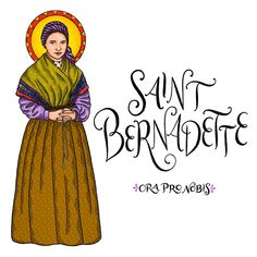"Catholic Paper Goods on Instagram: ""Saint Bernadette, ora pro nobis!! . . . . . . . . . . #orapronobis #saints #catholicsaints #catholicfaith #catholiccoloringpages…"""