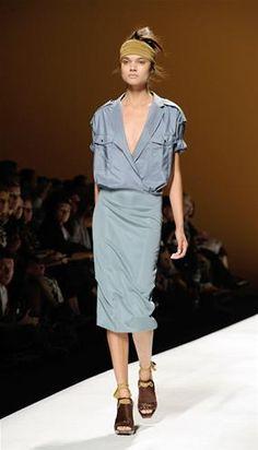 Colección primavera verano 2013 de Max Mara en la Semana de la Moda de Milán