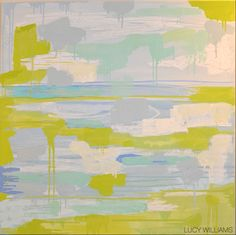 LUCY WILLIAMS OIL ON CANVAS 3' X 3'- SOLD