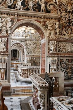Church of the Gesu Ambulatory, Palermo ~ by Gerfaut.d. Sicily