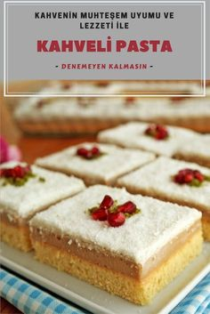 How to Make a Coffee Cake in the the faciles gourmet de cocina de postres faciles pasta saludables vegetarianas Cake Recipes, Snack Recipes, Cooking Recipes, Wie Macht Man, How To Make Coffee, Turkish Recipes, Confectionery, Desert Recipes, Nutritious Meals