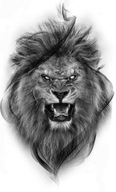 Lion Chest Tattoo, Lion Shoulder Tattoo, Lion Tattoo Sleeves, Lion Head Tattoos, Mens Lion Tattoo, Leo Tattoos, Animal Tattoos, Lion Images, Lion Pictures