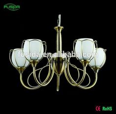 New Copper Alloy flower european iron+glass chandelier lamp wall light pendant light chandelier light