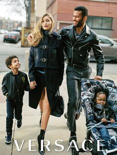 The first FW16 Campaign!!! Versace by Bruce Weber. The campaign stars Gigi Hadid, Karlie Kloss and Janiece Dilone in a series of tableaux, some real-life and some fantastical. The combination perfectly illustrates the relevance and wearability of modern Versace for all parts of one's life, from the ultra-glamourous to the everyday.