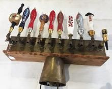 10-HEAD BEER TAP WITH 9-LEVERS FOR THE MAN CAVE.