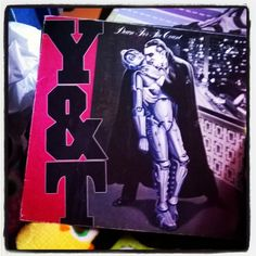 Y&T #downtothecount #album #albumcover #BelaLugosi kinda #Dracula meets #Metropolis #Halloweenmusic
