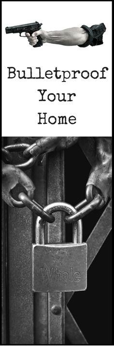 Bulletproof Home - REAL Bulletproof Home Defense  http://vid.staged.com/tNht