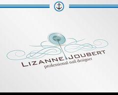 Lizanne Joubert Professional Nail Designer Logo Design