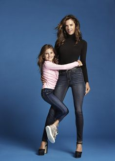 Alessandra Ambrosio and Her Daughter Land a Fashion Campaign