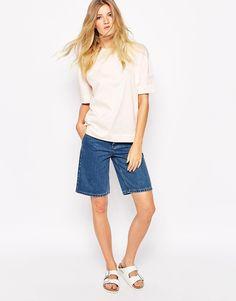 Imagen 1 de Pantalones cortos vaqueros con diseño más largo Murphy de Bethnals