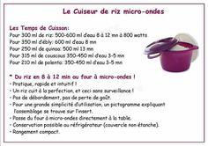 Tupperware - cuit riz