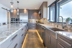 Kirkland Built Green Custom Home Kitchen Designs Photos, Design Your Kitchen, Traditional Kitchen, Custom Homes, Architecture Design, Kitchen Cabinets, Contemporary, Building, Green