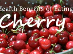 Health Benefits of Cherries: Why They're More Than Toppings for Pastries