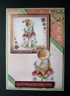 A5 card Using the Moonbeam Meadows Papercrafting Kit from Crafter's Companion