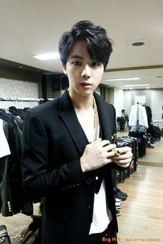Jin ♥ #BTS black haired JIN