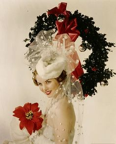 MERRY CHRISTMAS! From American actress, author and humanitarian, Colleen Townsend 1948