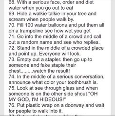 100 Crazy Things To Do With Your Best Friend! - Prank - Prank meme - - 100 Crazy Things To Do With Your Best Friend! The post 100 Crazy Things To Do With Your Best Friend! appeared first on Gag Dad. Things To Do At A Sleepover, Fun Sleepover Ideas, Crazy Things To Do With Friends, 100 Things To Do, Sleepover Party, Sleepover Crafts, Best Friend Things, Pajama Party, Sleepover Games