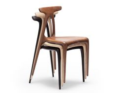 Made in Ratio uses CNC cutting to create an A-shaped chair
