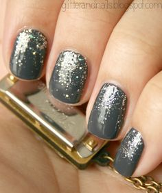 Grey and Silver Ombre