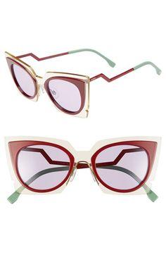 Fendi 49mm Cat Eye Sunglasses available at #Nordstrom