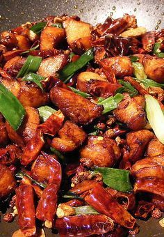 - Maybe add bourbon - Bourbon Chicken - Excellent recipe. I made this for my husband and his best friend and we all gave it 5 stars. Stir Fry Recipes, Spicy Recipes, Asian Recipes, Cooking Recipes, Healthy Tasty Recipes, Easy Recipes, Chinese Recipes, Amazing Recipes, Chinese Food