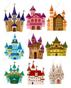 Cartoon Fairy Tale Castle Icon Royalty Free Cliparts, Vectors, And Stock Illustration. Pic 11383115.