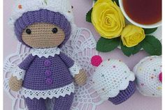 Amigurumi Cupcake Baby-Free Pattern