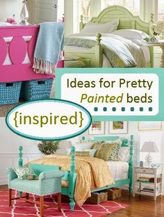 House Revivals: {Inspired} Ideas for Pretty Painted Beds