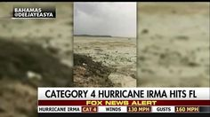 """A Twitter video from a Bahamas resident shows a dry ocean floor after Hurricane Irma pushed out the beach's water. Hurricane Irma approached the Florida Keys around 8:30am on Sunday, leaving at least one dead. The category 4storm is expected to be one of the worst in Florida's history, with evacuation orders for all of south Florida. Meteorologist Rick Reichmuth said he had never seen such an effect left by a hurricane. """"They were walking out in that on the ocean floor completel..."""