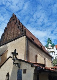 go2prague.com Old-New Synagogue, Prague. Luckily survived the whirlwinds of history