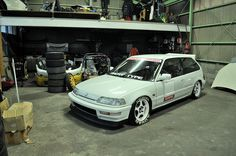 Honda Civic Ef, Kanjo Racing