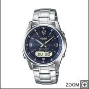 Casio Radiocontrolled Solarpowered World Time watch - fewer excuses, not to be on time.