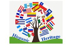 Every year in the US, Americans observe National Hispanic Heritage Month from September 15 to October Hispanic Heritage Month was established in 1968 Classroom Bulletin Boards, Classroom Activities, Bilingual Classroom, Spanish Classroom, Hispanic Heritage Month, September Bulletin Boards, Heritage School, Spanish Heritage, School Decorations