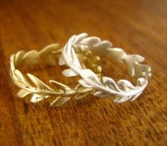 olive branch rings