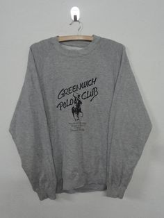 Vintage CHAMPION PRODUCT Spell Out Gray Sweatshirt Jumper USA Large Basketball 4pGiP2
