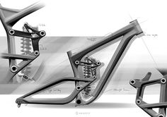 My main mission at Scott was to redesign the old Gambler. I was in charge of the design and graphics for all the parts andframe. Firstly the job was to create new frame with wheels, new saddle, new links. Then I worked on the graphic elements( colo… Motorcycle Design, Bicycle Design, Bicycle Sketch, Scott Bikes, Ein Job, Scott Sports, Motorised Bike, My First Job, Drift Trike