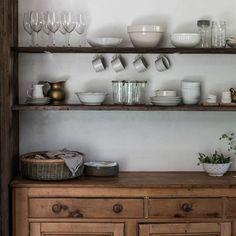 Rustic kitchen pantry