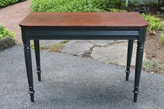 great painted furniture piece from Elizabeth & Co.: Writing Desk/Console Table