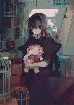 | Puella Magi Madoka Magica An interesting picture of Homura!
