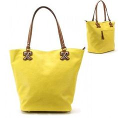 Vintage Leather Color Purse and Bag / Handbag / Yellow / [No Longer Available] #GraffitiLensHandBag