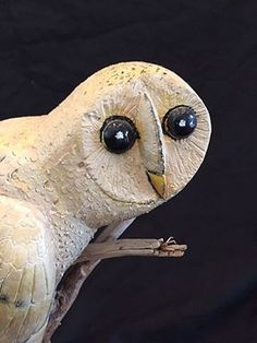 Here's a folk art attention-catcher--a barn owl carving, found in Maryland, ca. mid-20th century. Outstanding condition. $1,450, including U.S. shipping: http://www.rjgantiques.com/Product.aspx?invno=18594
