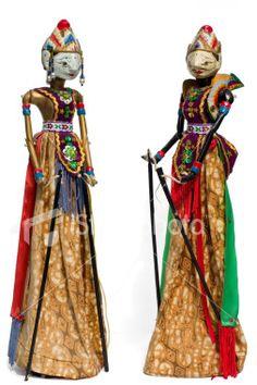 Wayang Golek (puppet)