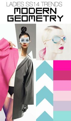 Spring/Summer 2014 Fashion Trends: Modern Geometry. Trend Council.