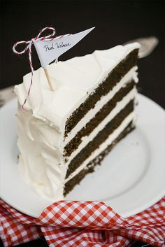 REAL red velvet cake. Don't forget to read the article about the real history of this awesome cake. - Thanks for sharing