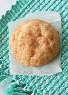 The Best Snickerdoodle Cookie Recipe - www.the-girl-who-ate-everything.com