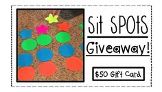 Sit Spots are AWESOME! So is a GIVEAWAY!!