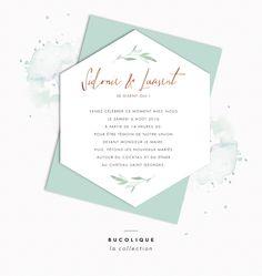 faire-part mariage aquarelle calligraphie champetre