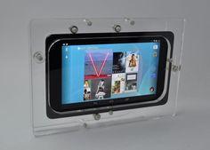 Nexus 7 Clear Acrylic VESA Security Enclosure with Wall Mount Kit Vesa Mount, Nexus 7, Ipad Stand, Stand Tall, Computer Accessories, Clear Acrylic, Wall Mount, Kit, Ebay