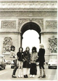 The New York Dolls, Paris 1973